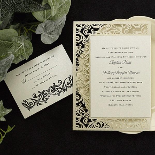 Carlson Craft Wedding Invitations Carlson Craft Wedding