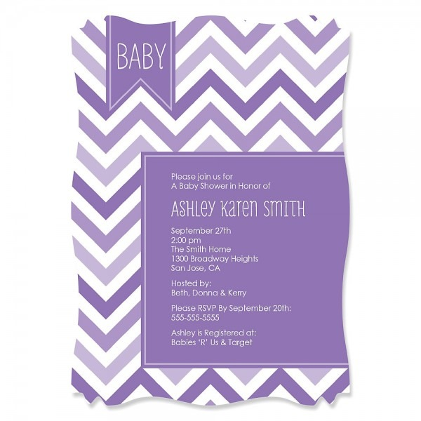 Baby Shower  Pink And Grey Baby Shower Invitations Pink Baby