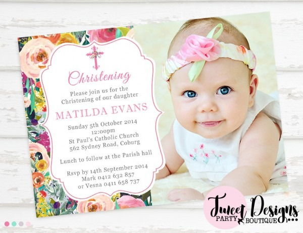 Joint Birthday And Christening Invitations    Cu1218 Boys 1st