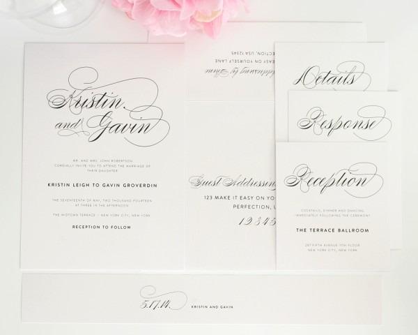 Classy Wedding Invitations Classy Wedding Invitations For