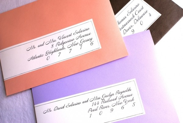 Clear Address Labels For Wedding Invitations Designing The