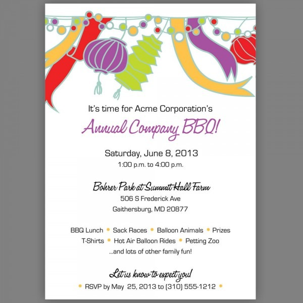 Corporate Party Invitation Wording Ideas From Easytygermke And Get