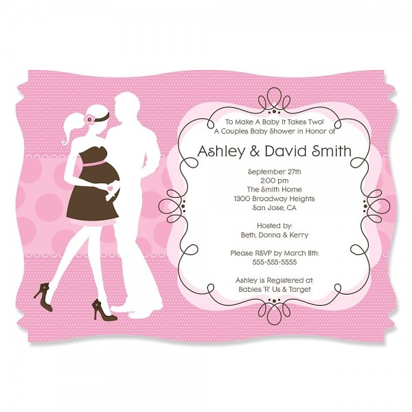 Couple Baby Shower Invitations Girl – Baby Shower Ideas