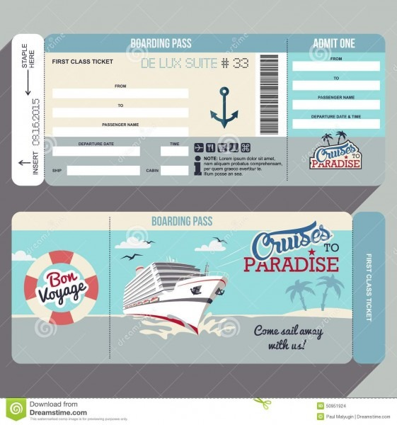 25 Images Of 21 Birthday Boarding Pass Cruise Template Blank
