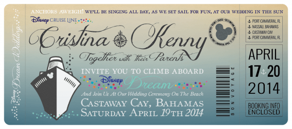 Cruise Wedding Invitations From I And Get Ideas To Create Your