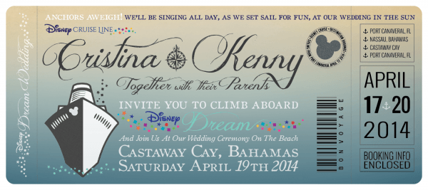 Cruise Wedding Invitations From Kinderhooktap To Inspire You How