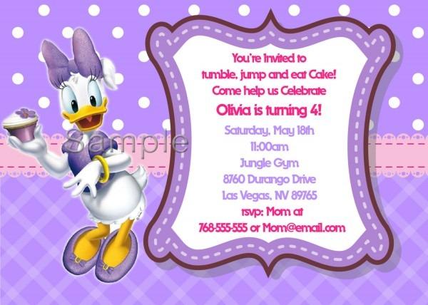 Daisy Duck Birthday Clipart