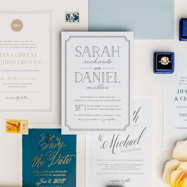 5 Reasons To Buy Wedding Invitations Online