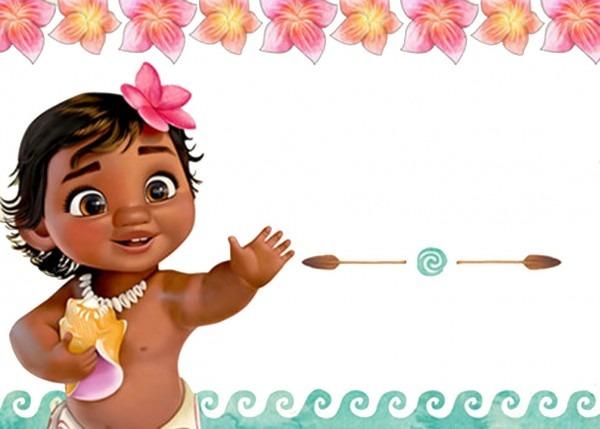 Defaddfccbde Printable Templates Of Baby Moana Invitation Template