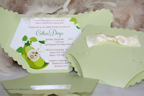 Diaper Baby Shower Invitations From Festdude Is Exceptional Ideas