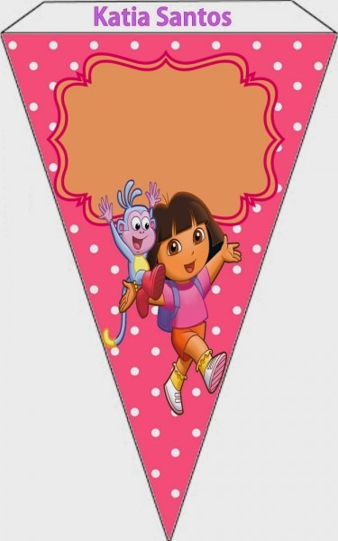 Dora The Explorer  Free Printable Invitations, Boxes And Party