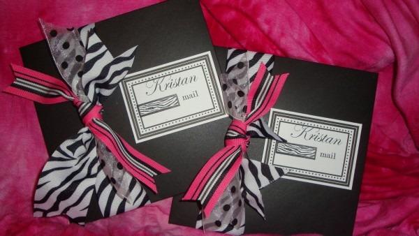 Destiny Awakes  A Pink & Zebra Print  Top Model Themed 13th