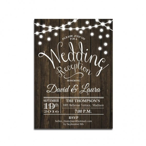 Wedding Ideas  Wedding Reception Invitations