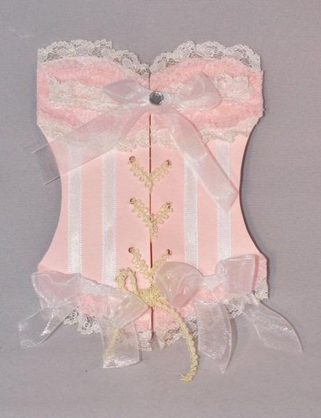 Linen And Lace Corset Bachelorette Invitations  $25 00, Via Etsy