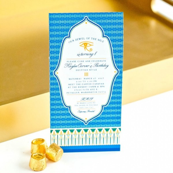 Egyptian Wedding Invitations ~ Wedding Invitation Collection