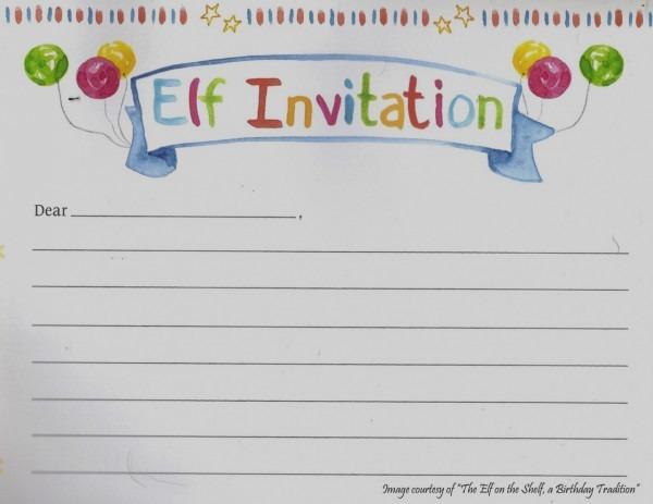Elegant Elf On The Shelf New Elf On The Shelf Birthday Invitation