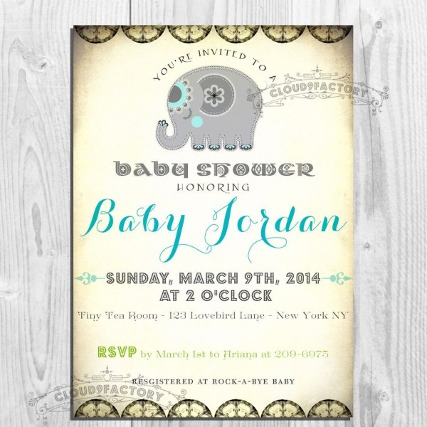 Electronic Baby Shower Invitations Create Electronic Baby Shower