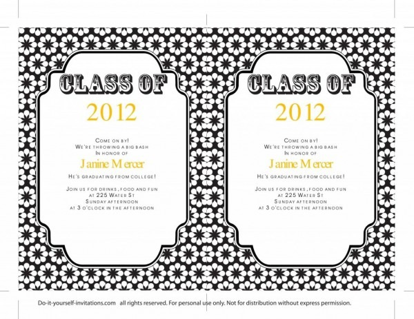 Etsy Grad Invitations Invites Costco Canada Graduation Preschool
