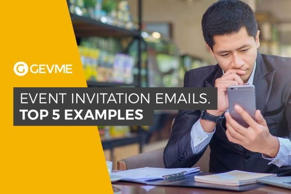 5 Best Event Invitation Email Examples