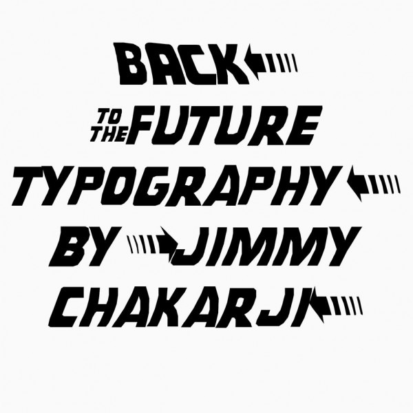 Back To The Future Typography  5 Steps