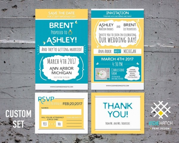 Pin By Indie Hatch On Wedding Invite Packages