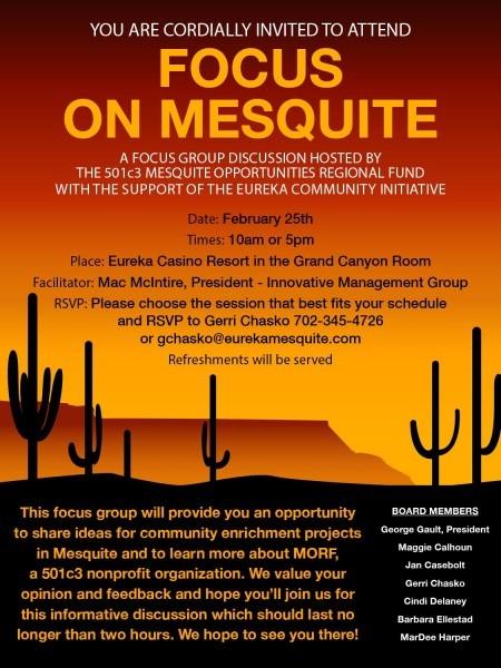 Focus On Mesquite