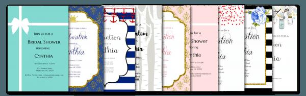 Free Editable Invitations (exclusive)