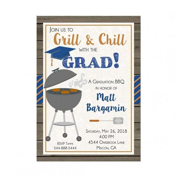 Funny Grad Party Invites Walmart Small Joint Graduation