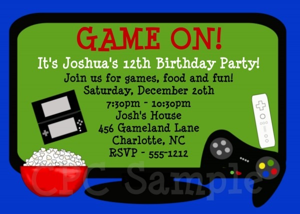 Card Game Party Invitations – Unique Birthday Party Ideas And Themes