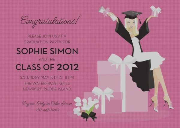 Graduation Invitations Wording Party Invitation Examples Funny