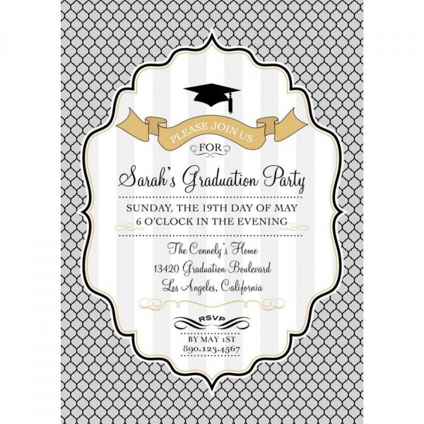 Graduation Party Invitations Templates Free Best Printable Diy