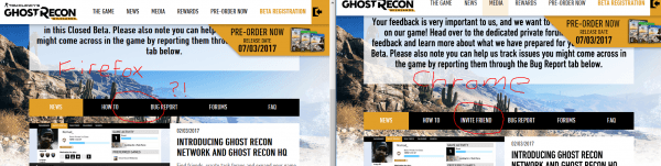 Use Chrome To Invite Your Friends    Wildlands