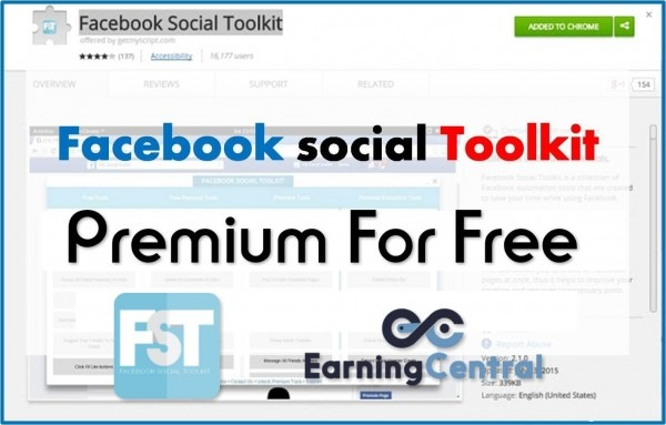 Facebook Social Toolkit Premium Download Free (chrome Extension