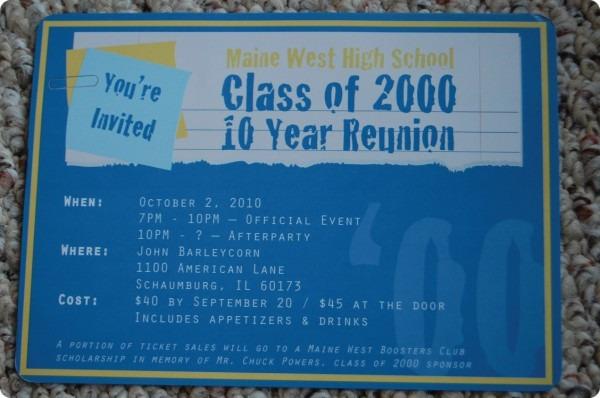 Nostalgic High School Reunion