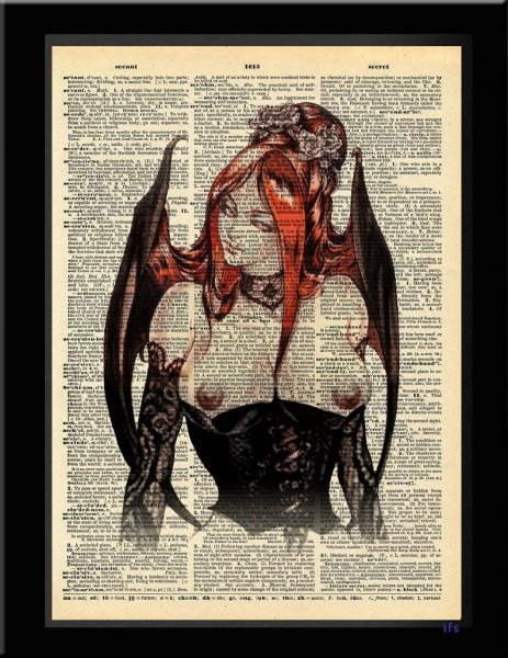Castlevania Inspired Symphony Of The Night Succubus Dictionary