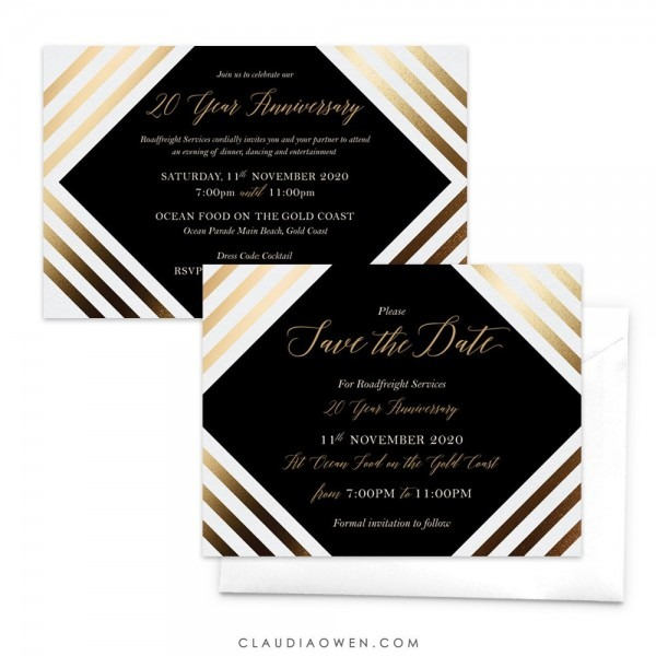 Anniversary Invitation Business Anniversary Company