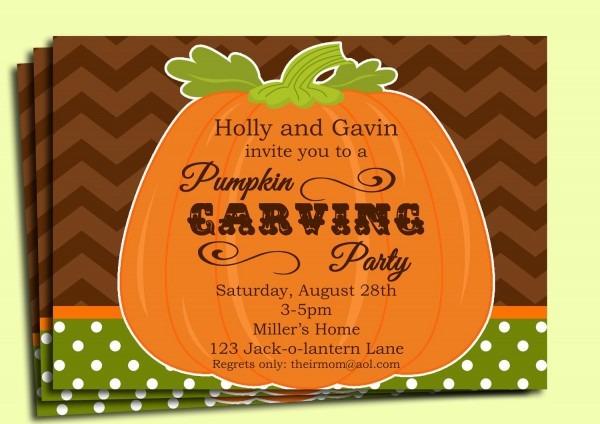 Pumpkin Invitation Printable Fall Birthday Pumpkin Patch