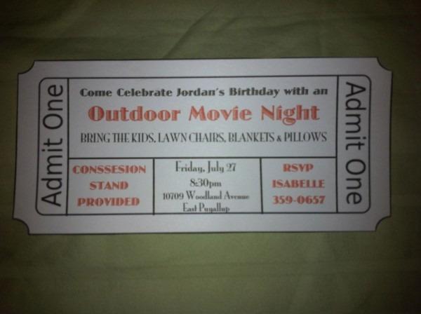 The Renaissance Woman  Outdoor Movie Night