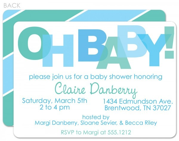 Baby Shower  Baby Shower Cards Sayings  Baby Shower Invitation