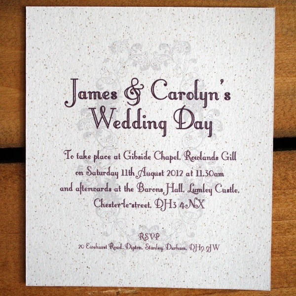 Informal Wedding Invitation Wording Informal Wedding Invitation