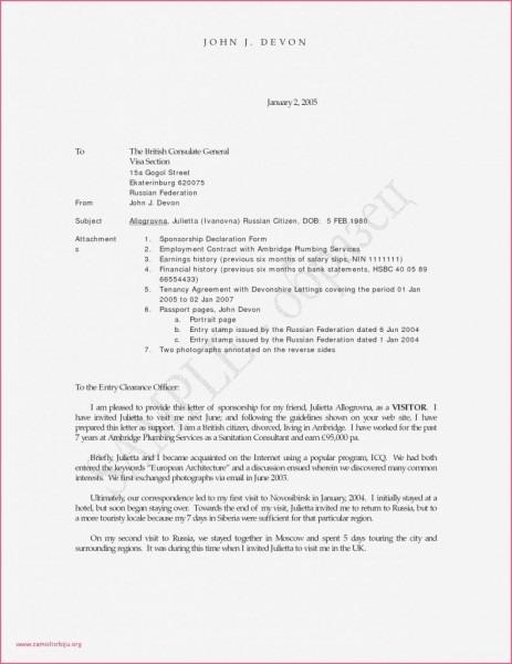 Invitation Letter Sample For Tourist Visa Cover Letter Uk Visa
