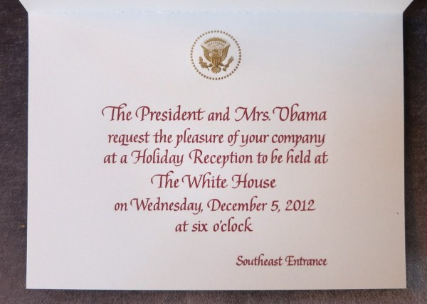 Obama Food Orama One  The Obamas' 2012 Holiday Cards Feature