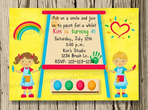 Kids Party Invitations Kids Party Invitations For Your Party