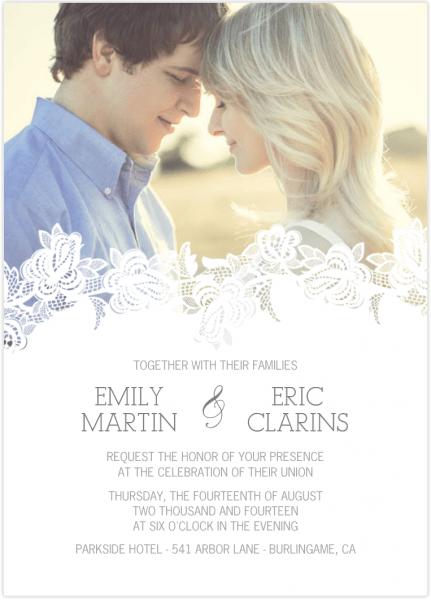 Wedding Invitations & Announcement Cards