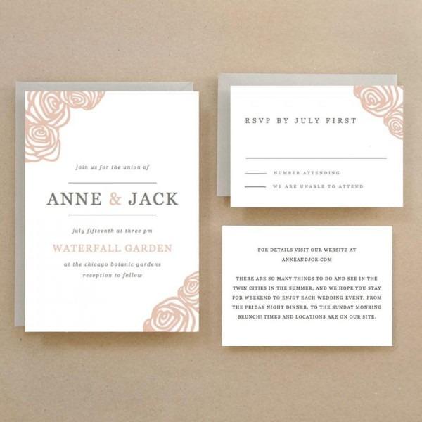 Wedding Ideas  Print Your Own Wedding Invitations