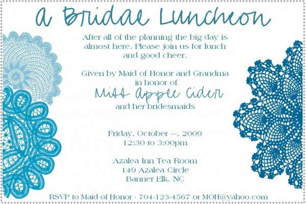 Luncheon Invitations Template Yihbbpo Elegant Bridesmaid Luncheon