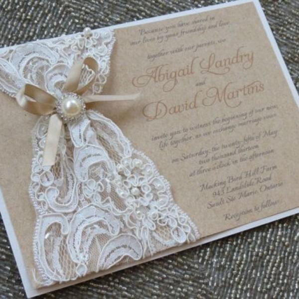Wedding Invitation Ideas  Make Your Own Rustic Wedding Invitations