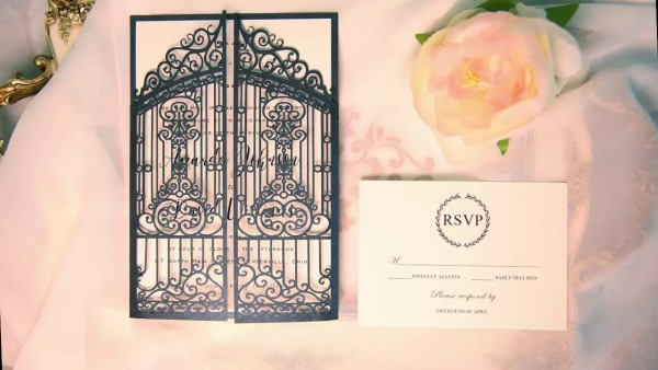 Vintage Slate Grey Intricate Laser Cut Gate