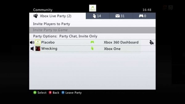 Xbox 360 And Xbox One In The Same Party