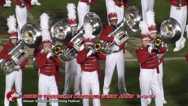 Hewitt Trussville Marching Husky Band @ Hoover Invitational
